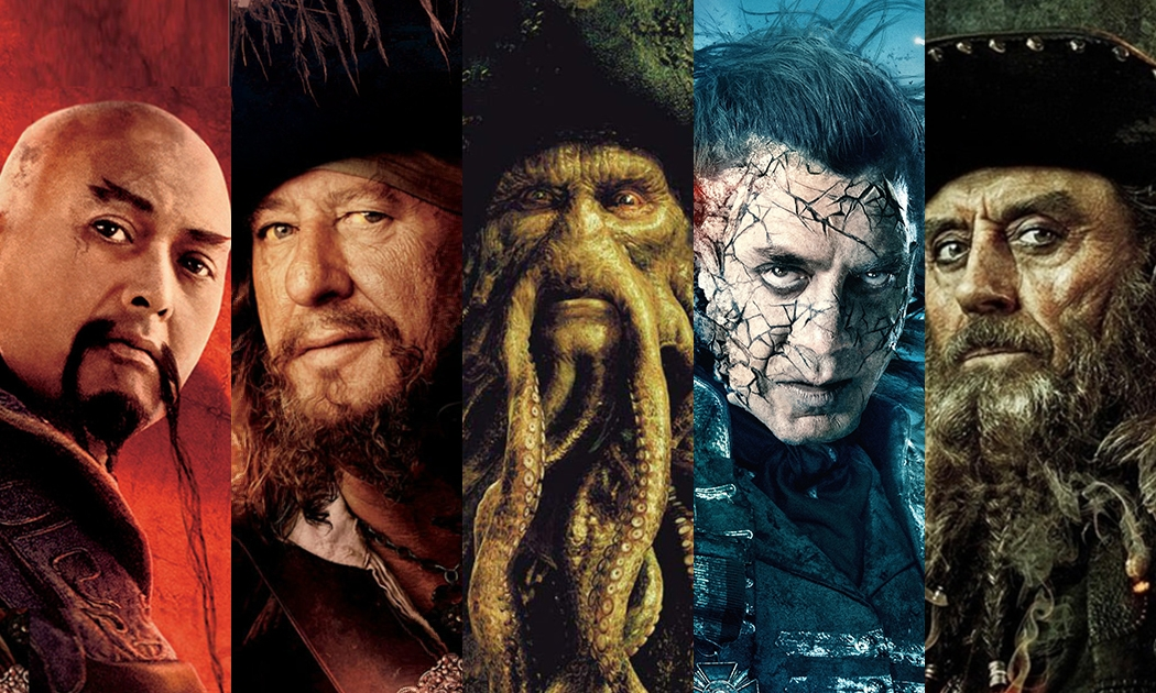 Pirates of the Caribbean: Rogues Gallery Roll Call