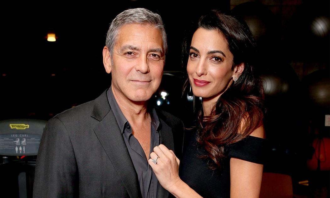 Bayi Kembar untuk George & Amal Clooney!