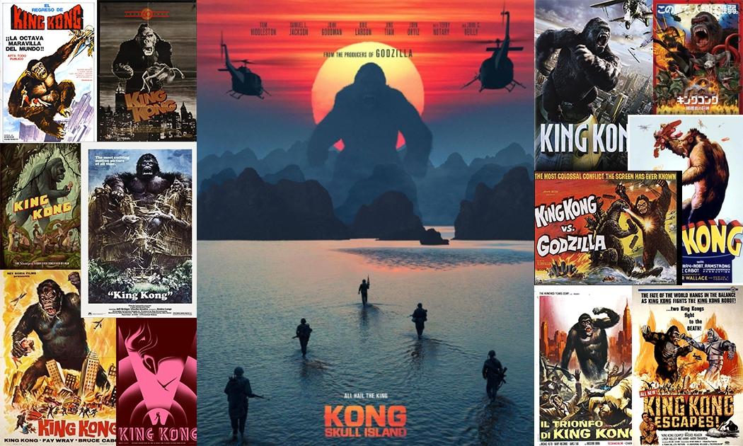 Kong, Evolusi yang makin Sangar & Mencengangkan