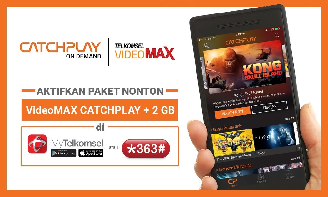 Telkomsel Videomax Catchplay 2 Gb Ed Says Catchplay On Demand