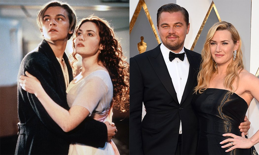 Titanic Cast- Then and Now