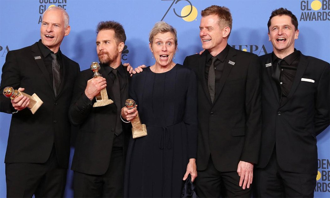 Golden Globes 2018 Results – A Brief Reaction