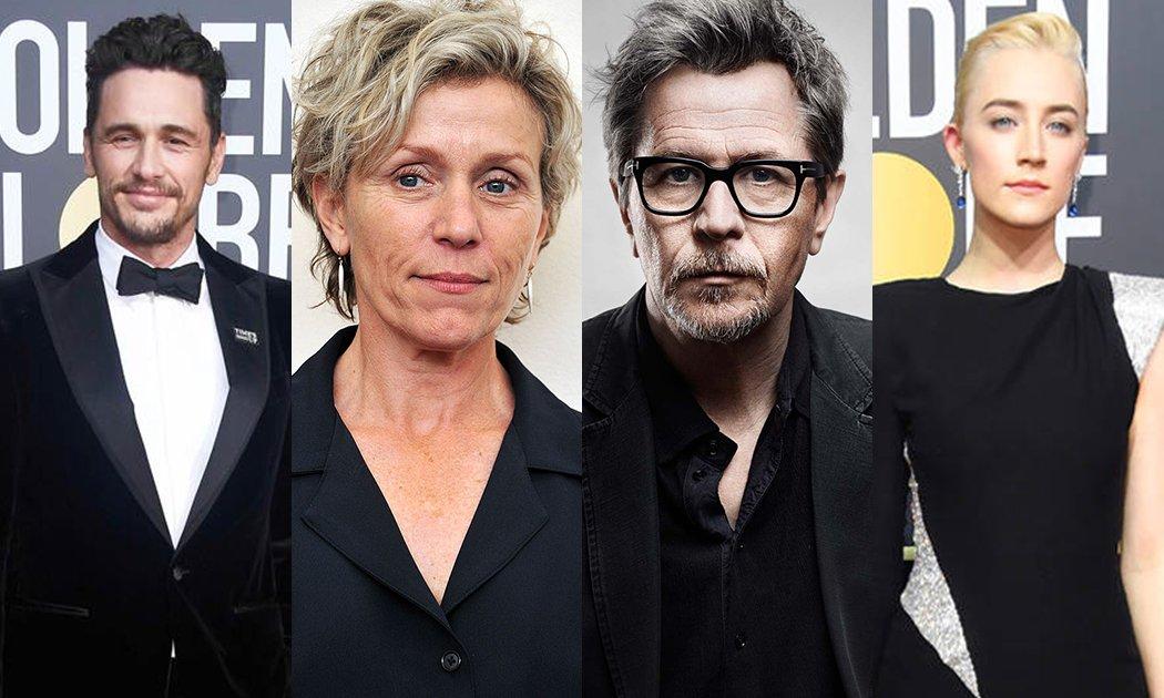 Golden Globe 2018: '3 Billboards' & 'Lady Bird' Terbaik