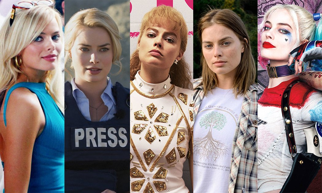 The Many Faces of Margot Robbie