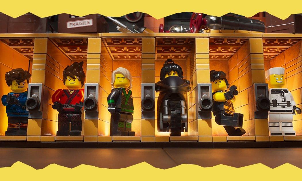 LEGO NINJAGO, Seru, Kocak, Gila!