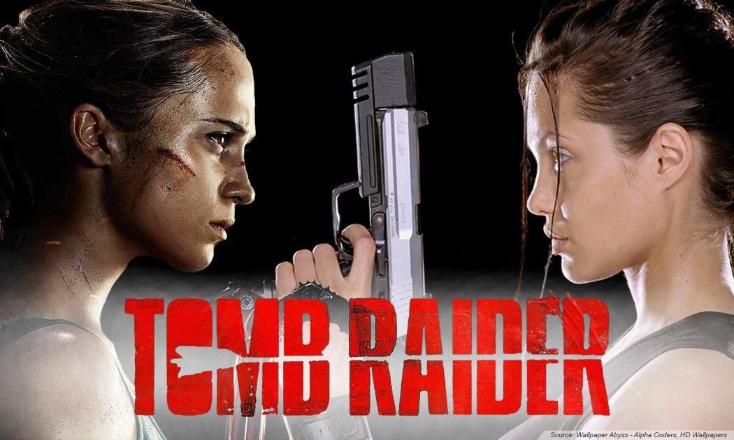 ALICIA VIKANDER Lara Croft yang Lebih Hot!