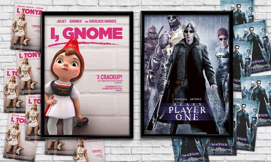 想看《一級駭客》和《水牛情深》嗎?那些年我們惡搞的電影海報