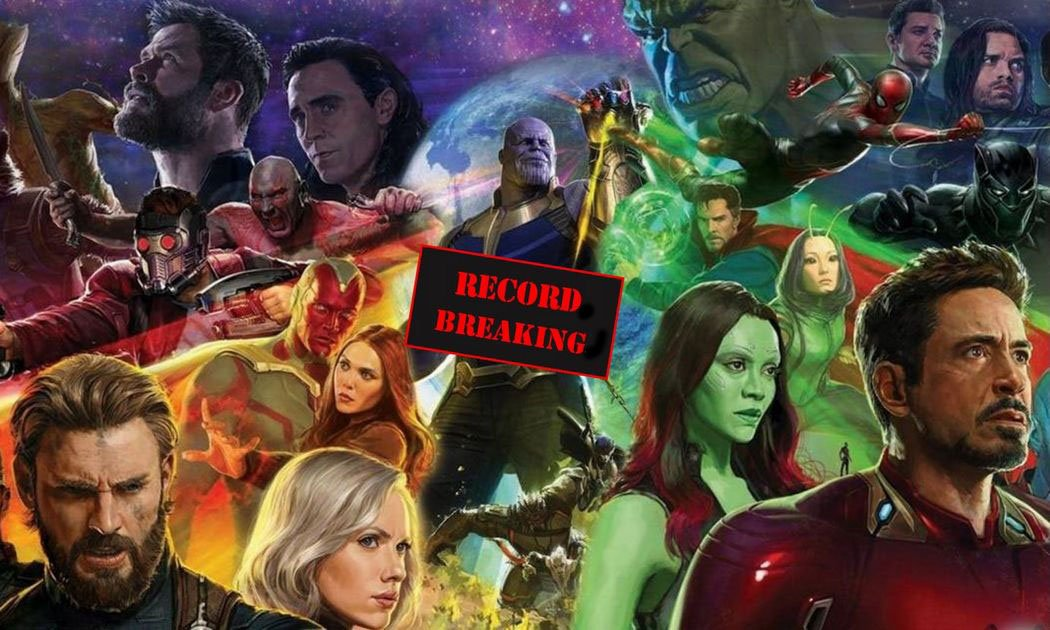 Avengers: Infinity War- The Records It Has Broken So Far