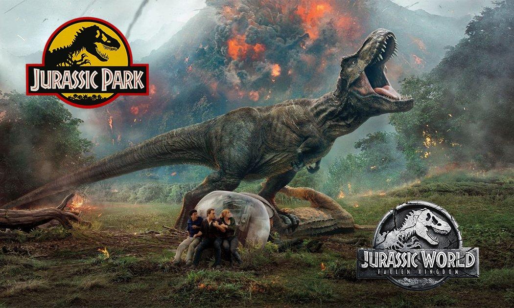 A Roaring 25 Years: From Jurassic Park to Jurassic World: Fallen Kingdom