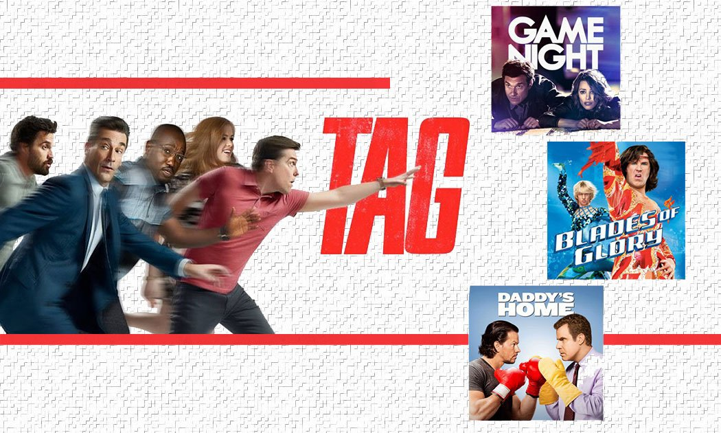 Tag, You're It! The True Story Behind Tag and 3 Comedies Just Like It