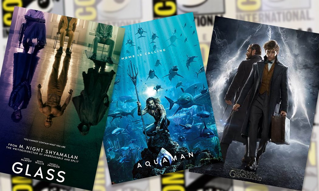 Top 5 Awesome Movie Trailers at San Diego Comic-Con