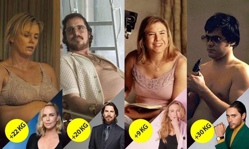 Piling on The Pounds: 7 Actors Who Gained Weight For Their Roles
