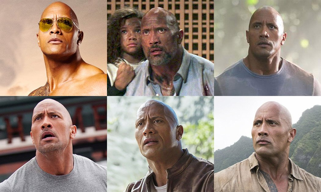 Dwayne Johnson is the Same Guy in Every Movie