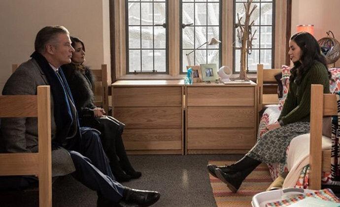Alec Baldwin dan Salma Hayek dalam Drunk Parents