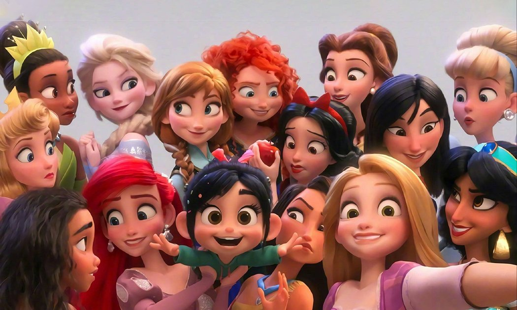 Meet the Updated Princesses of Ralph Breaks the Internet ...