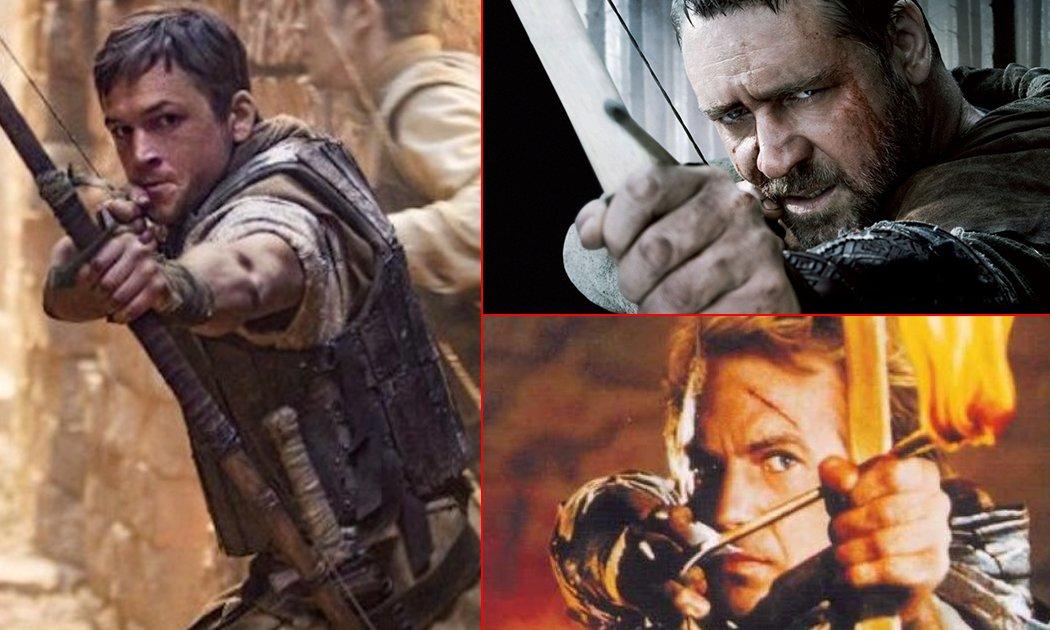 ROBIN HOOD, dari Costner yang 'Romantis' ke Egerton 'Superhero'