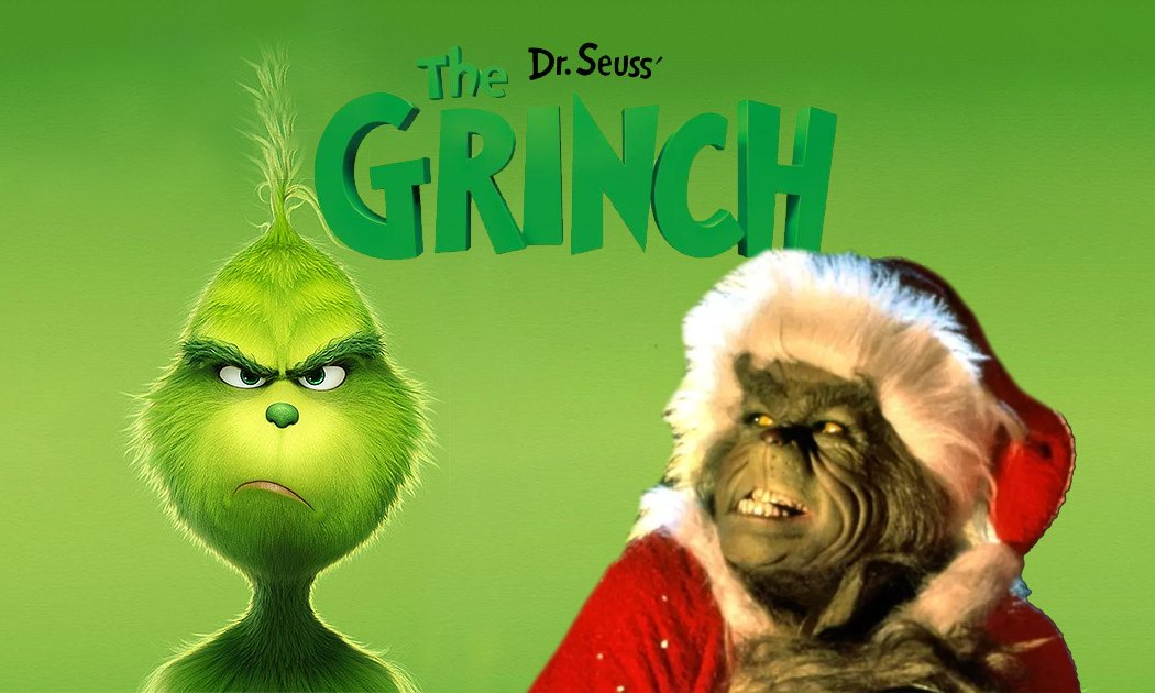 Who Makes a Better Grinch? Benedict Cumberbatch or Jim Carrey?