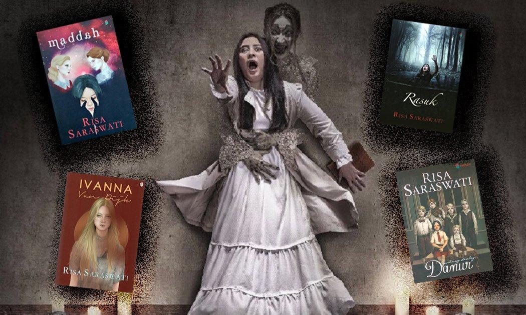 Risa Saraswati, Danur dan Novel Siap Adaptasi