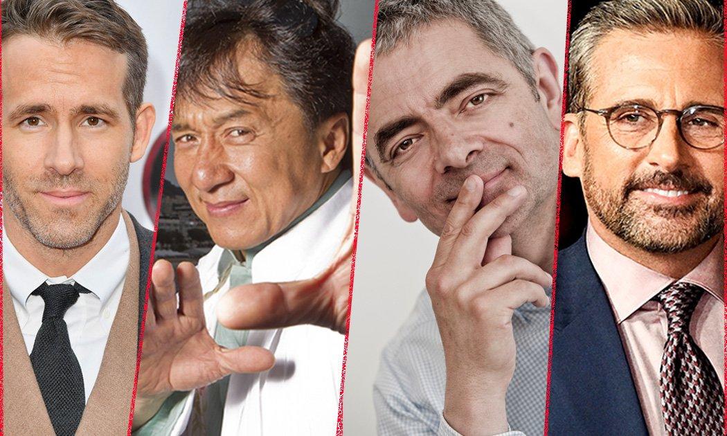 7 Aktor Jenaka dari Penjuru Dunia