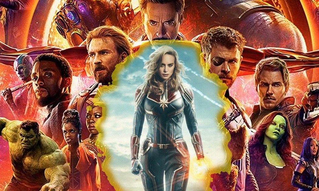 Koneksi 'Captain Marvel' dengan Film Lain