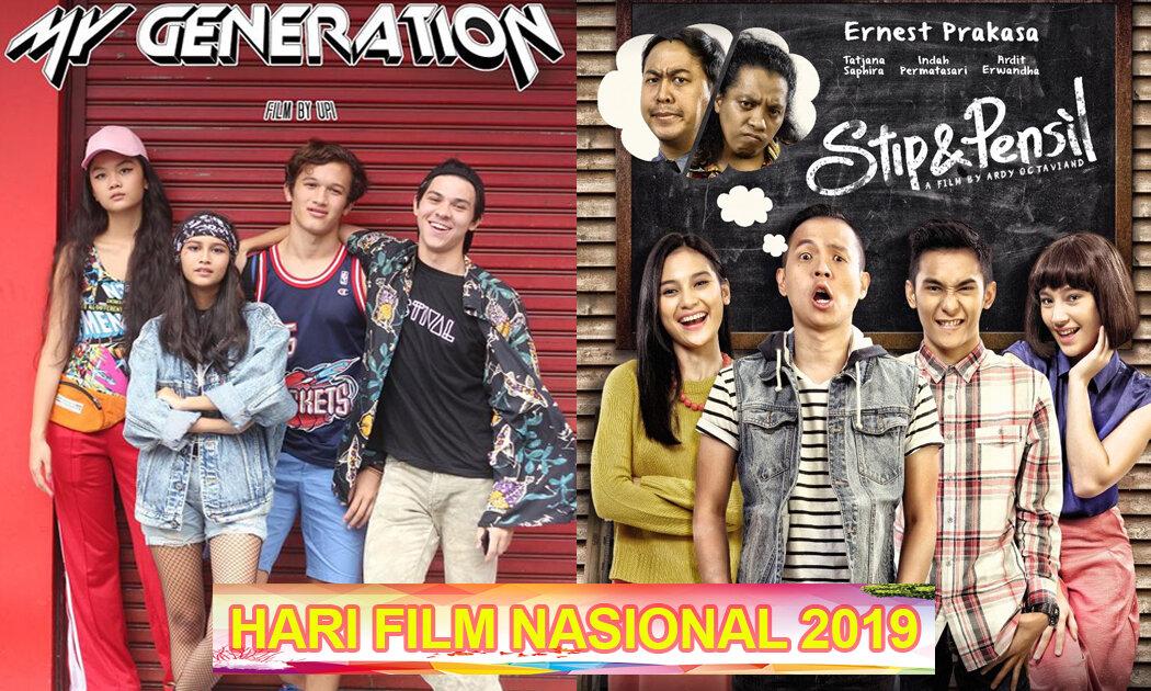 Parade Film Jenaka Menyambut Hari Film Nasional
