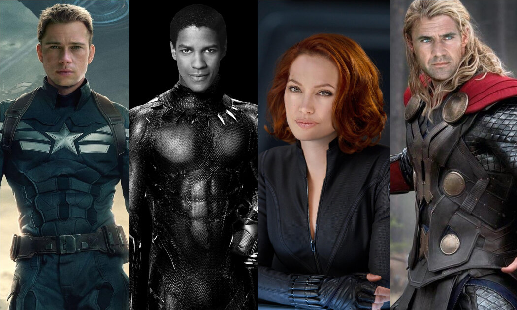 Grab Your Popcorn: These are Probably The Avengers if the Marvel Cinematic Universe Happened 20 Years Ago