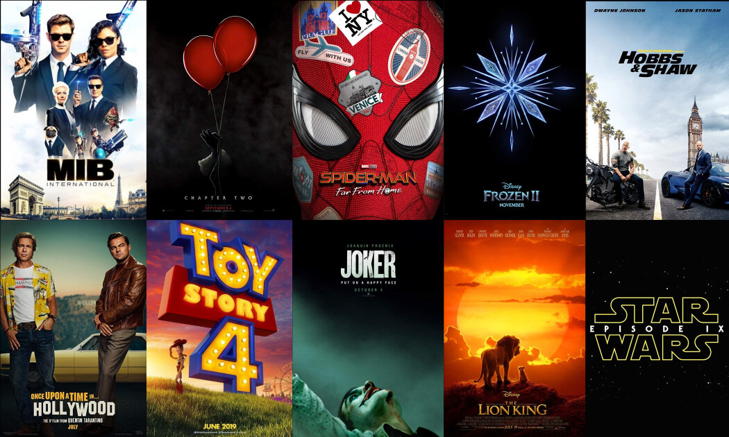 10 Blockbusters to Look Forward to in the 2nd Half of 2019