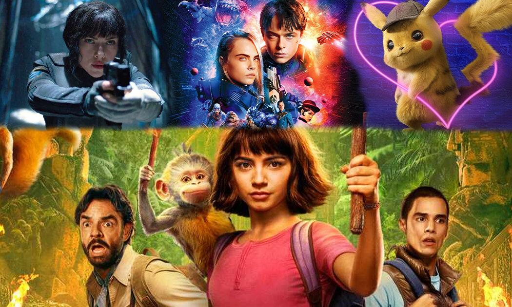 Main dengan Dora dan 5  'Live-Action' Keren Lain!