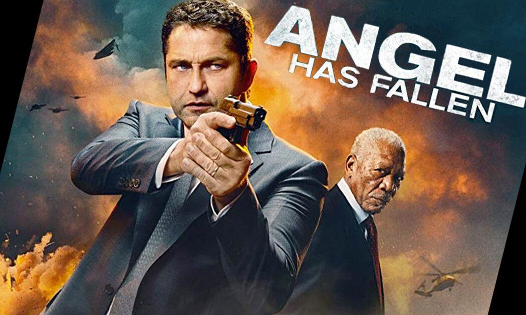 Gerard Butler Siksa Morgan Freeman dalam ANGEL HAS FALLEN