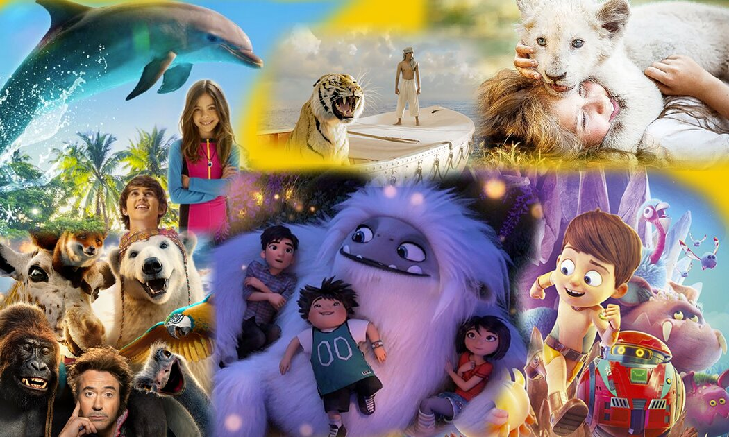 Persahabatan Manusia-Hewan Paling Mesra dalam Film