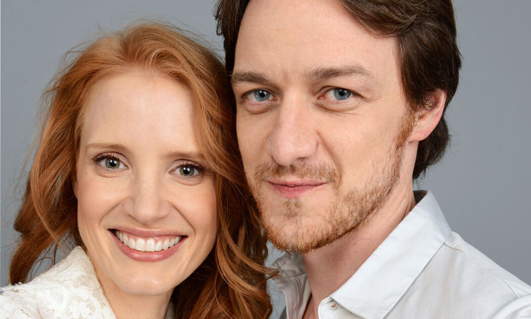 James McAvoy and Jessica Chastain Share Awesome on/off-Screen Chemistry