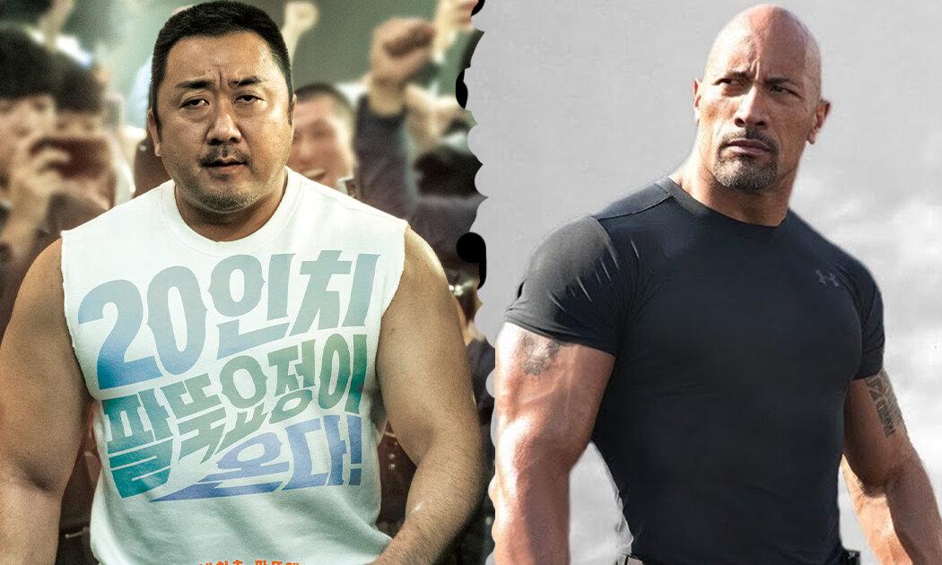 Perkenalkan, The Rock dari Korea, Dong-seok Ma!