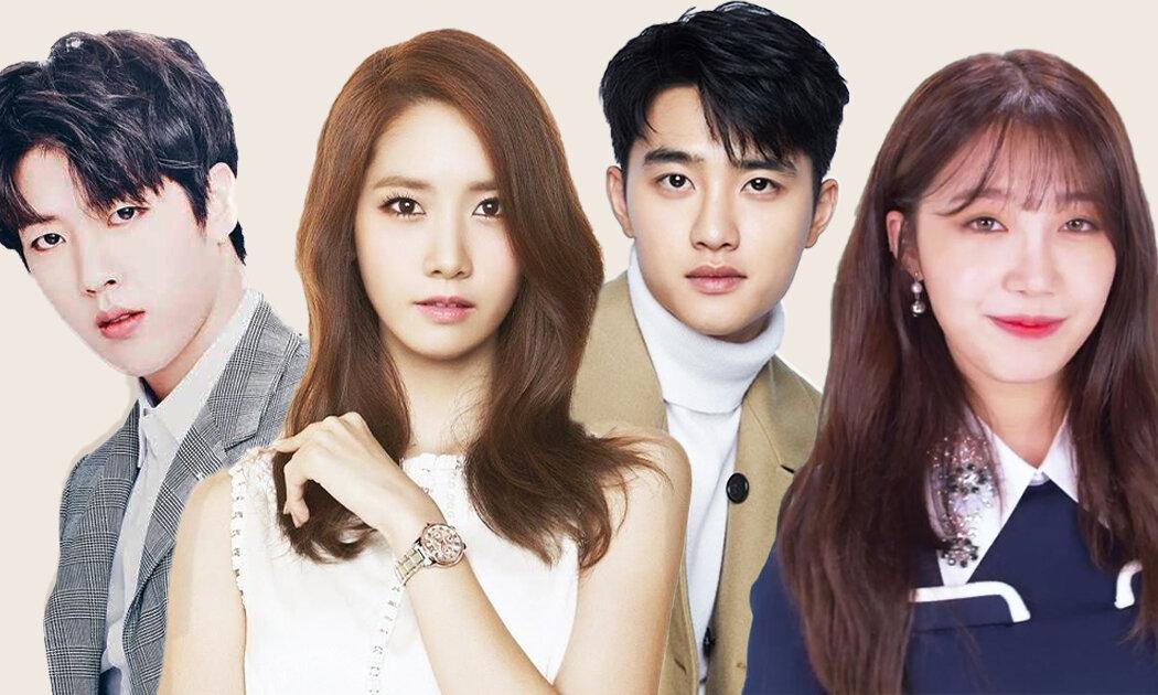 Bintang K-Pop, Nggak Main di Film Romantis Aja!