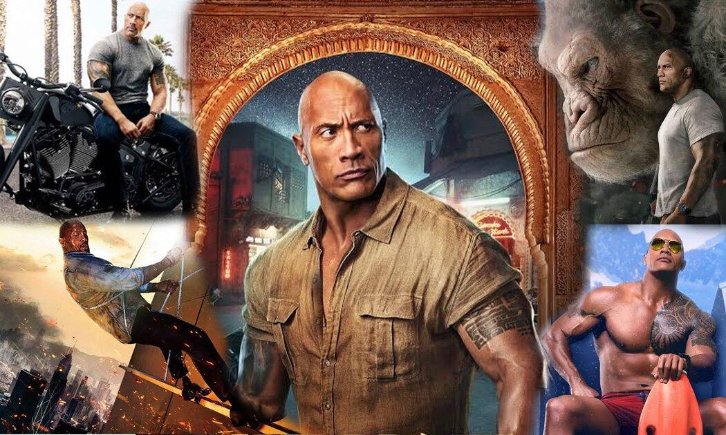 "Ini Dia Karakter-karakter Fenomenal Dwayne ""The Rock"" Johnson"