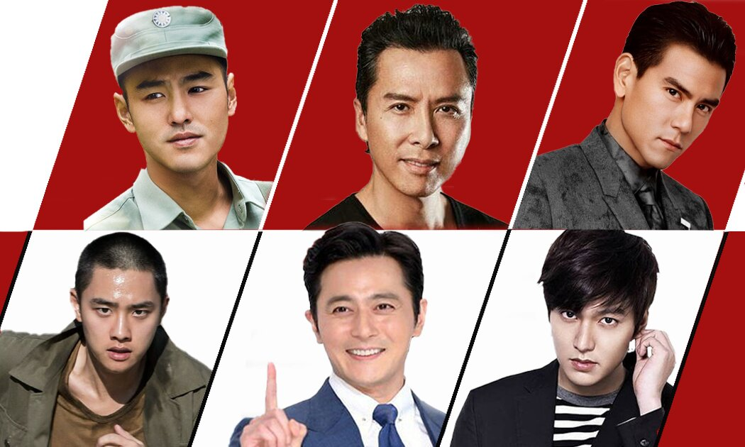 Mana Lebih Ganteng: 5 Aktor Mandarin vs 5 Aktor Korea?