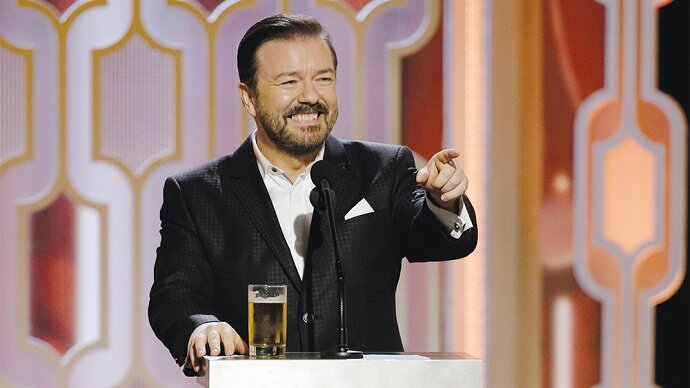 Golden Globes 2020 Ricky Gervais