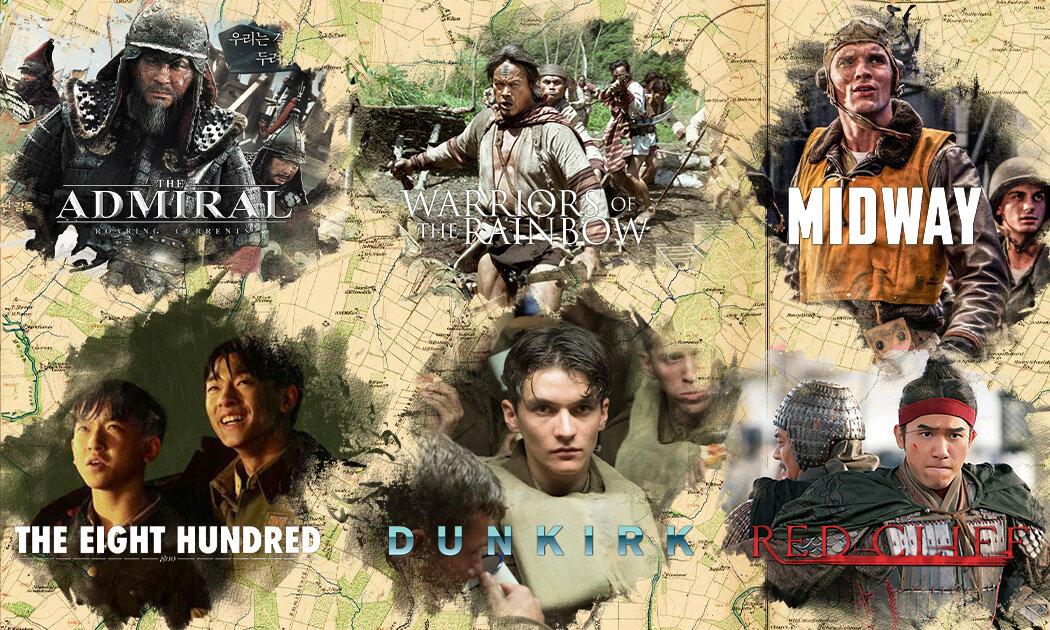 6 Film Perang Epik dari Kisah Nyata