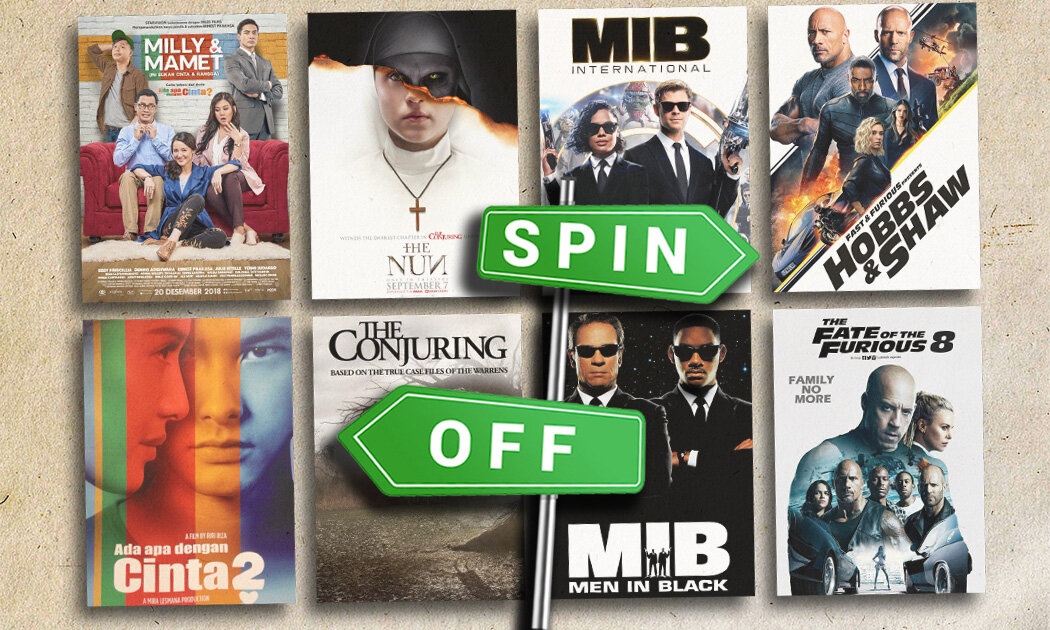 9 Film Spin-Off Ini Tak Disangka, Akhirnya Dibuat Juga
