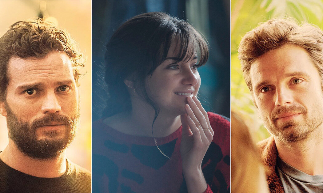 ENDINGS, BEGINNINGS Cinta Segitiga Shailene Woodley, Jamie Dornan & Sebastian Stan