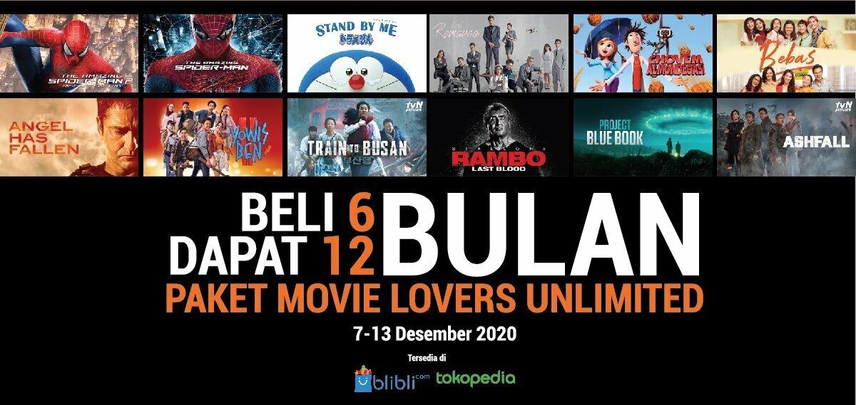 Promo 12.12 CATCHPLAY+ di Blibli & Tokopedia