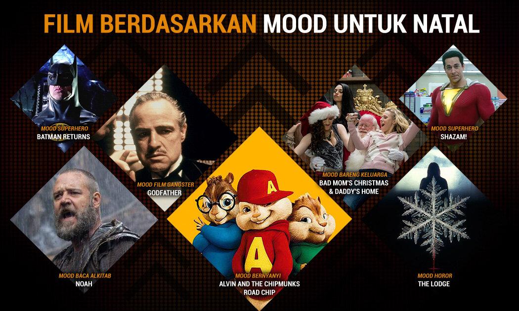5 Film Rekomendasi Sesuai 'Mood' di Liburan Natal dan Tahun Baru