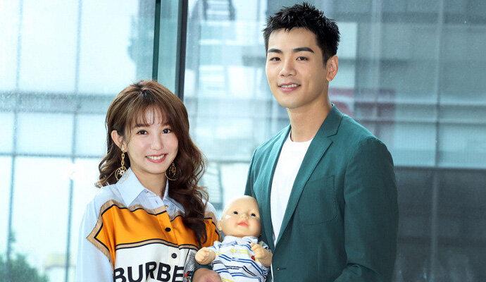 Pemeran utama Mother To Be, Shu-yao Kuo dan Bruce Hung
