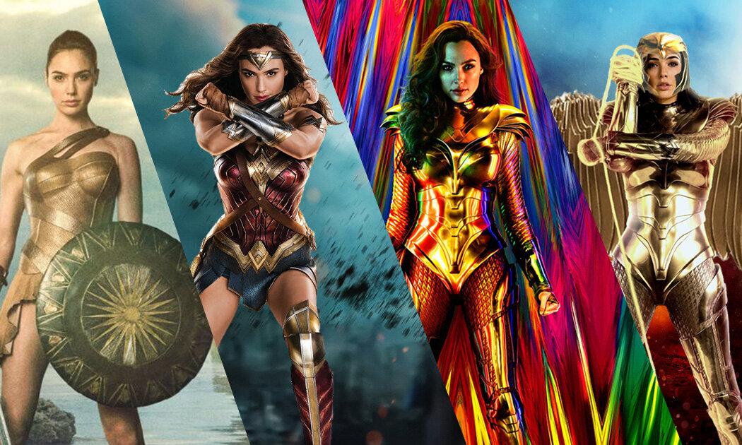 Aksi Keren Wonder Woman di Berbagai Film DC Comics
