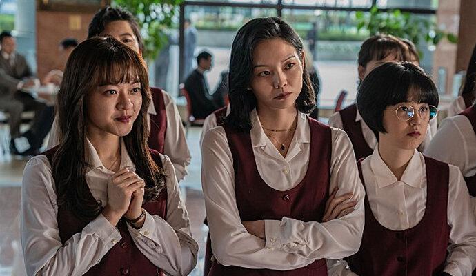 Komedi tiga cewek cantik di Samjin Company English Class