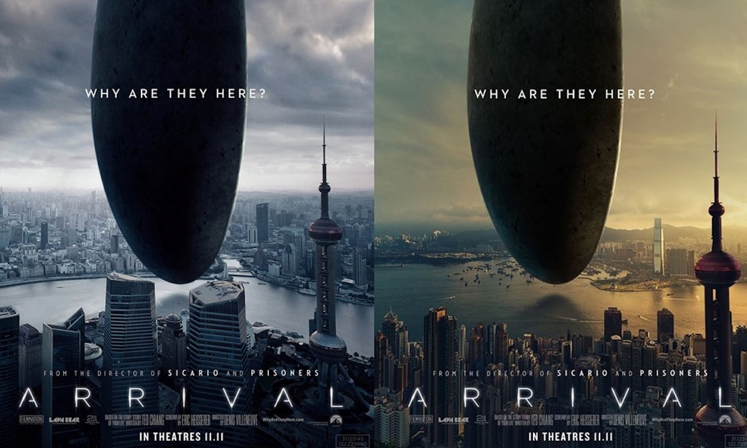 Arrival Poster Stirs Anger In Hong Kong
