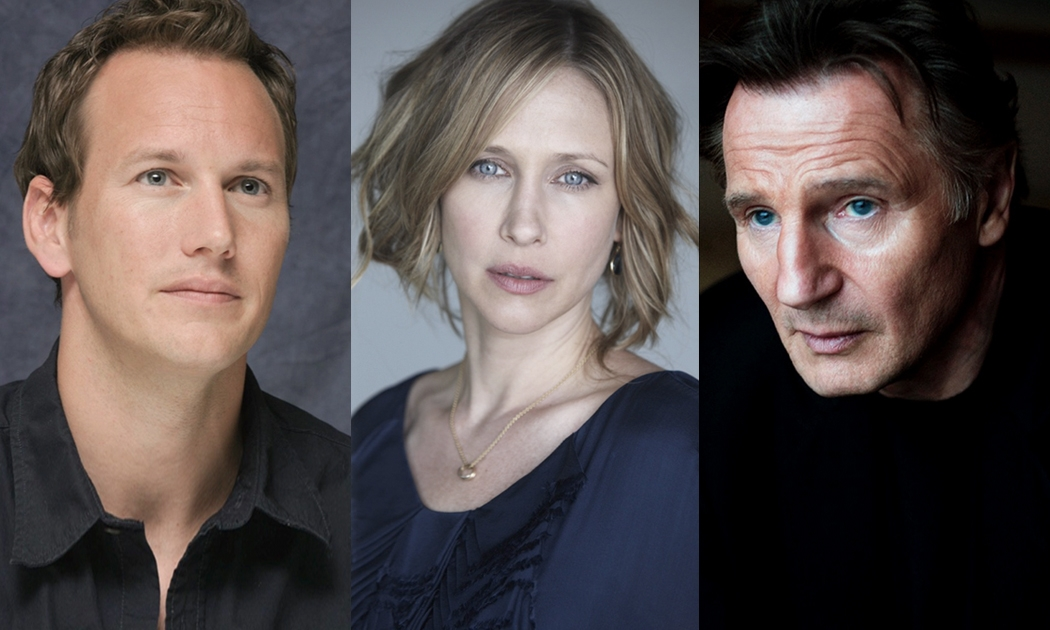 """Welcome Aboard """"The Commuter"""" with Liam Neeson and Patrick Wilson"""