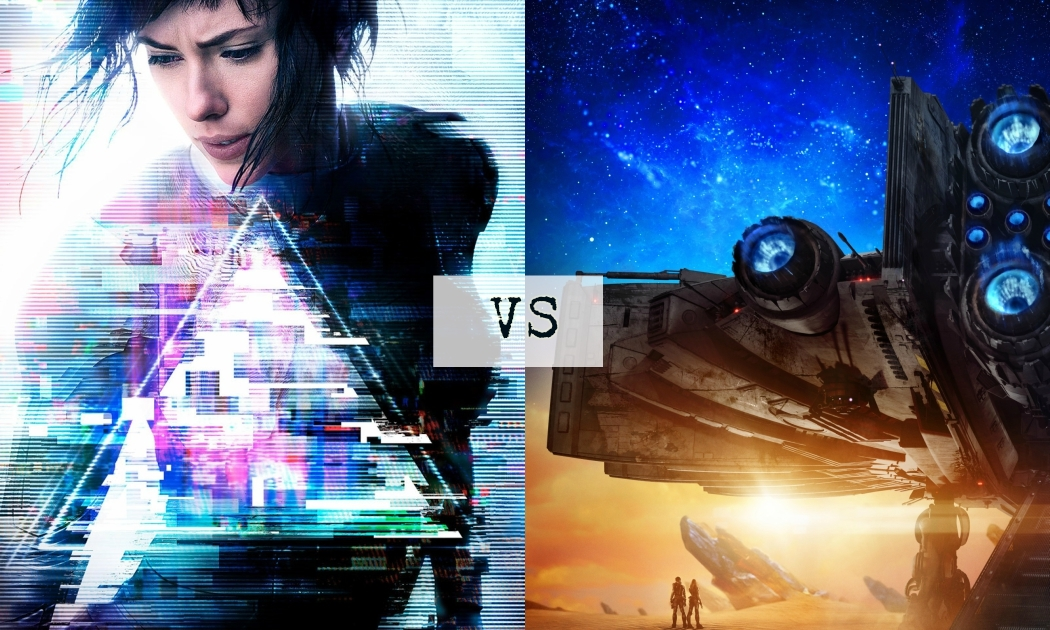 Ghost in the Shell vs Valerian and The City of a Thousand Planets