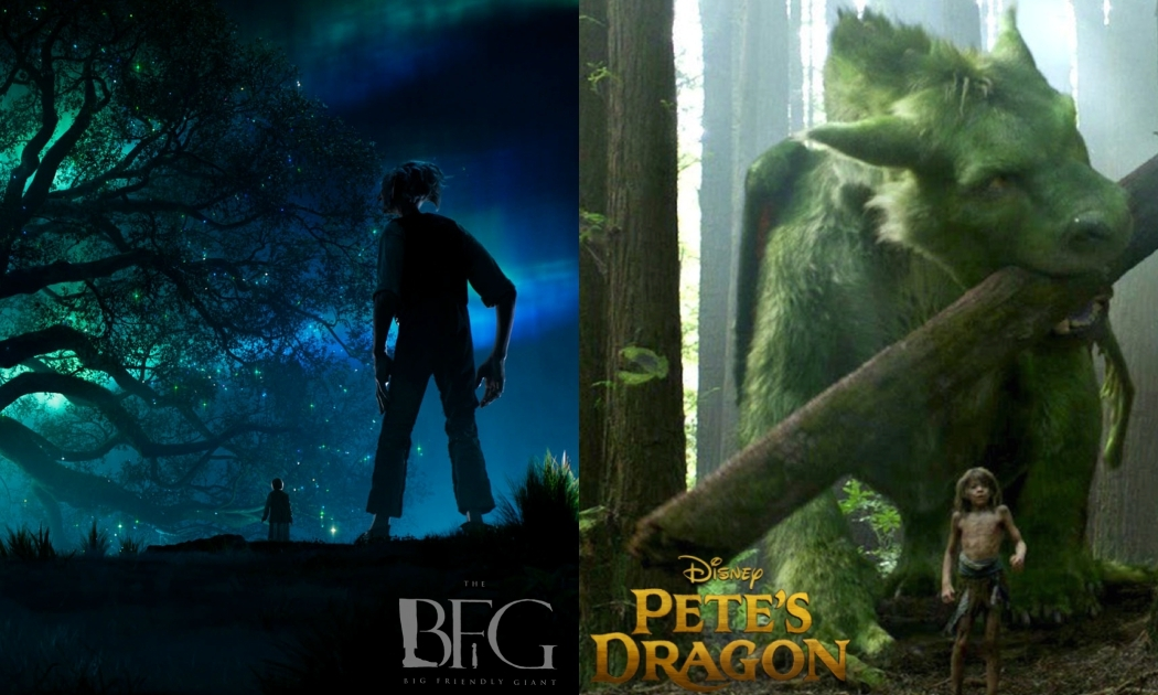 Family Time: The BFG or Pete's Dragon?