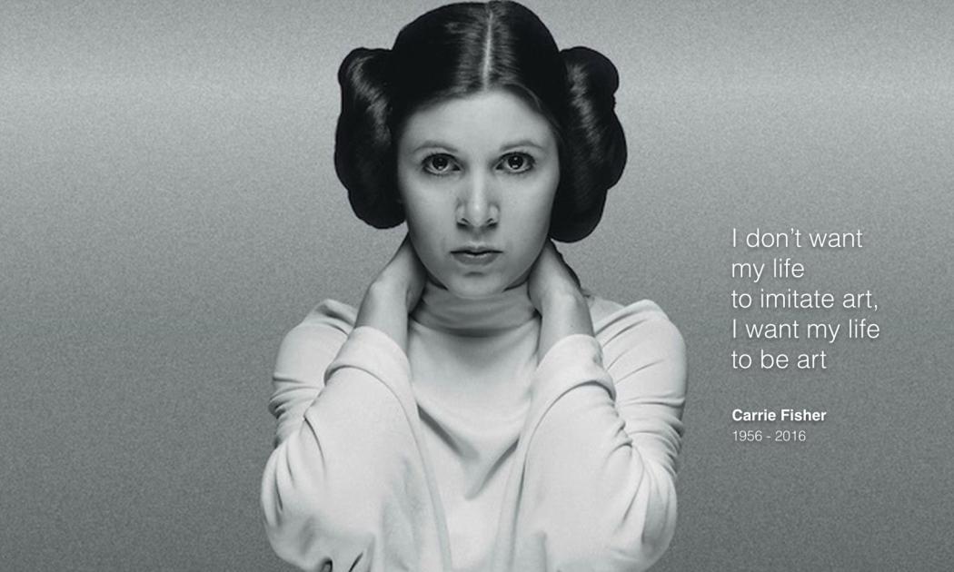 Princess Leia Takes Her Final Bow