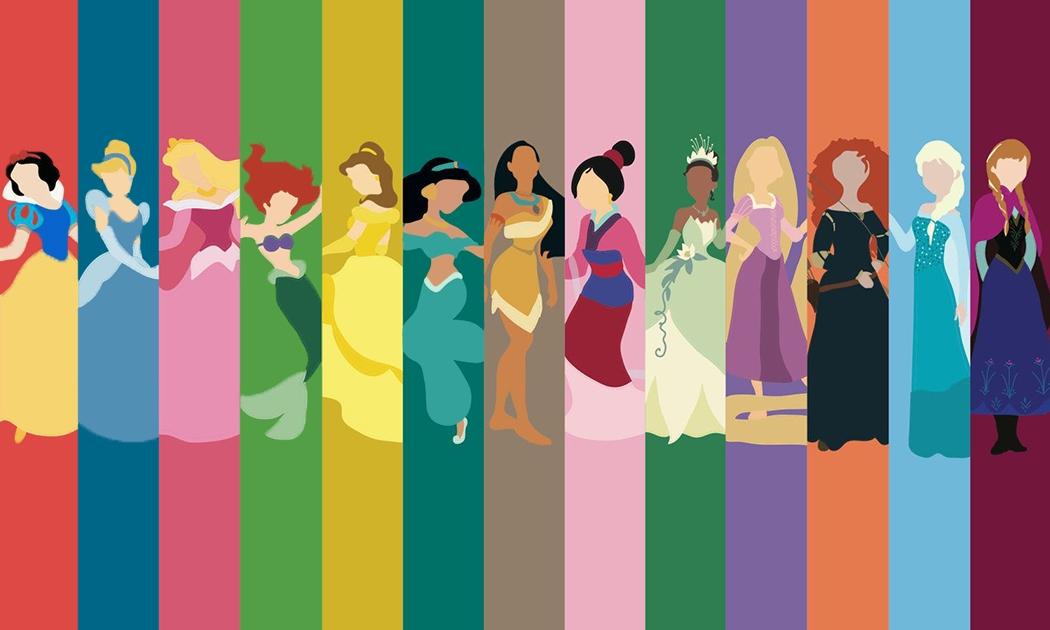 電影裡的衣Q:迪士尼公主完美禮服下的秘密